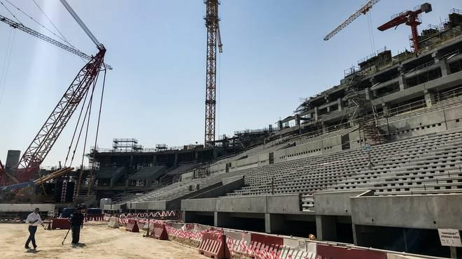 Im Lusail-Stadion finden unter anderem das Eröffnungsspiel und das Finale statt