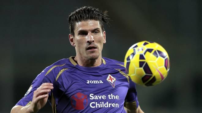 Mario Gomez wechselte 2013 vom FC Bayern zum AC Florenz