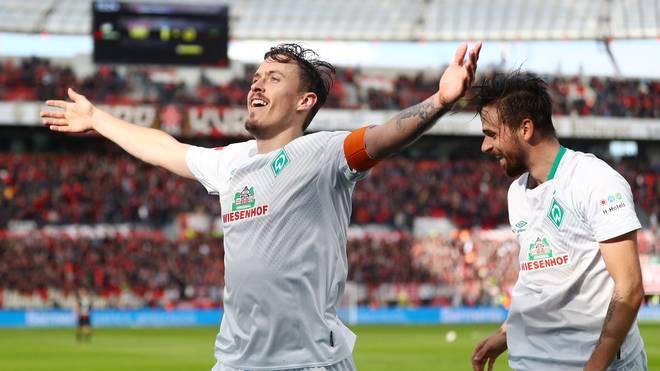 Max Kruse war an allen drei Bremer Treffern in Leverkusen beteiligt