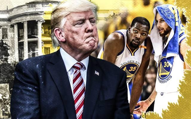 Donald Trump lädt den künftigen NBA-Champion nicht ins Weiße Haus ein