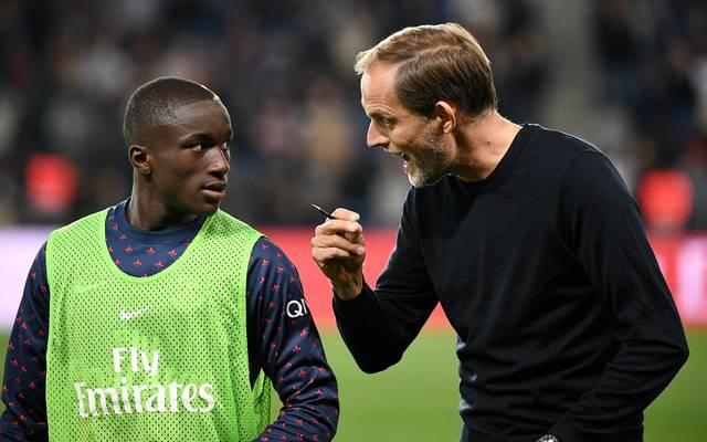 ThomasTuchel (r.) hat Moussa Diaby bei seiner Entscheidung pro Leverkusen beeinflusst