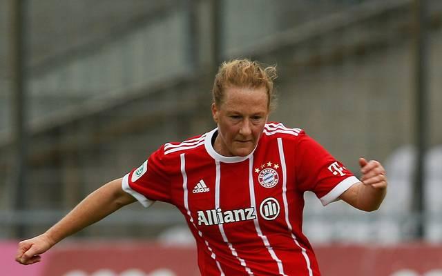 Melanie Behringer brachte den FC Bayern in Führung