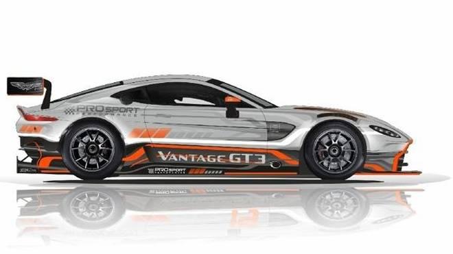 PROsport will zwei der neuen Aston Martin Vantage GT3 einsetzen