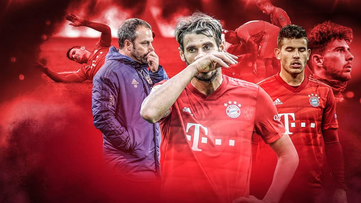 Das Lazarett des FC Bayern