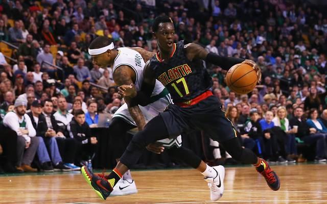 Atlanta Hawks v Boston Celtics mit Dennis Schröder