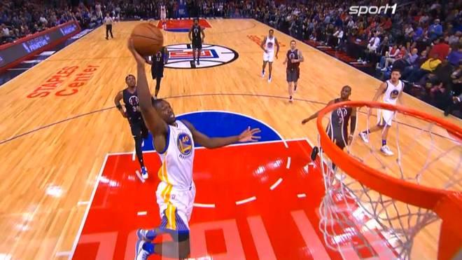 Die Golden State Warriors setzten sich auch dank Draymond Green gegen die Clippers durch