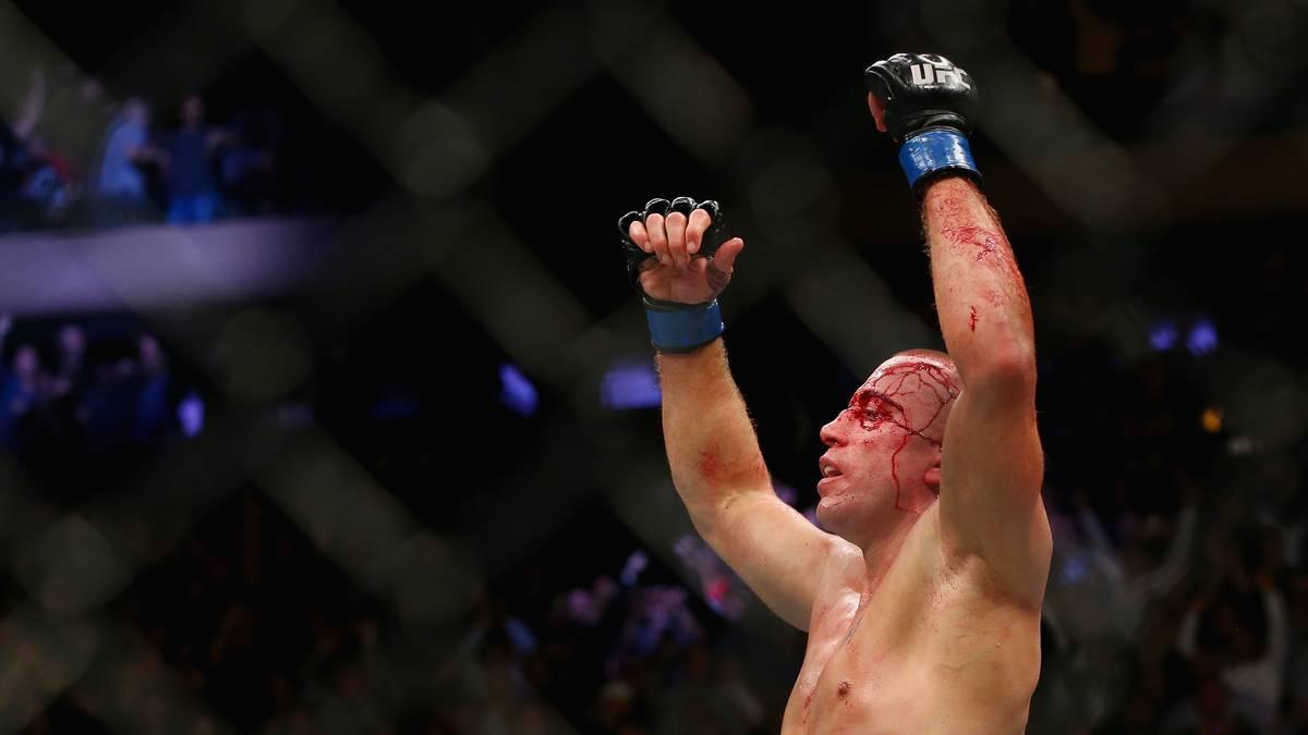 Georges St-Pierre ist nach dem Sieg über Michael Bisping UFC-Mittelgewichtschampion