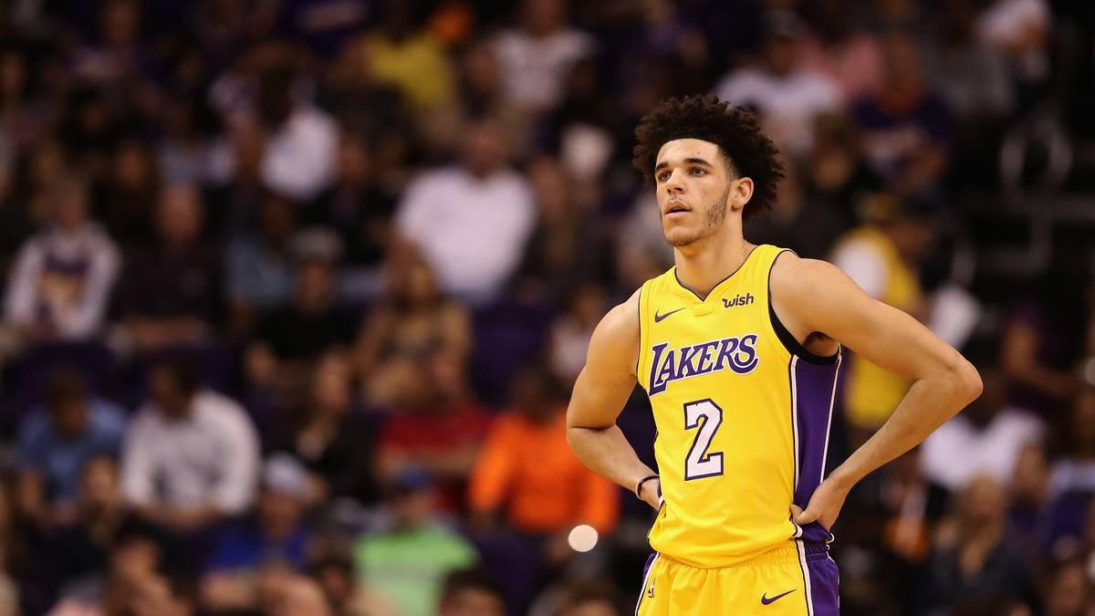 Lonzo Ball wurde von den Lakers in der ersten Runde gedraftet