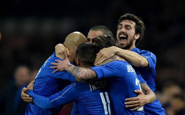 Italien sieht sich nach dem Remis gegen Spanien im Aufwind