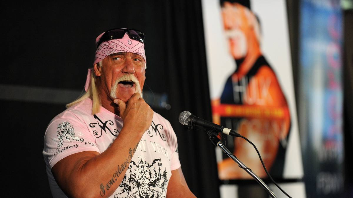 Hulk Hogan Launches His New Book 'My Life Outside The Ring'