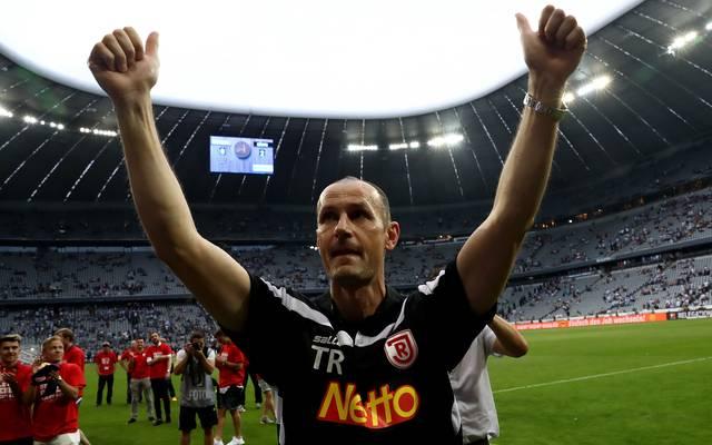 Heiko Herrlich führte Jahn Regensburg in die Zweite Liga