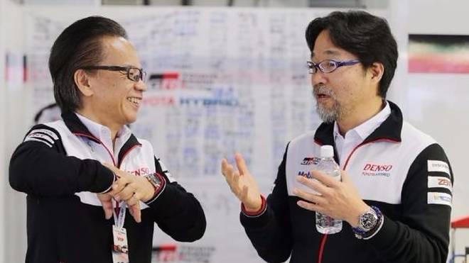 Sind bezüglich des LMP1-Programmes unsicher: Tomoyama san und Murata san