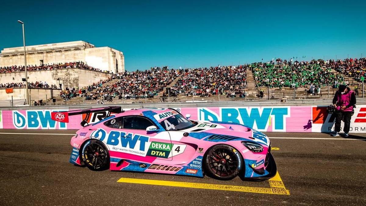 Maximilian Götz holt sich den DTM-Titel im Mercedes