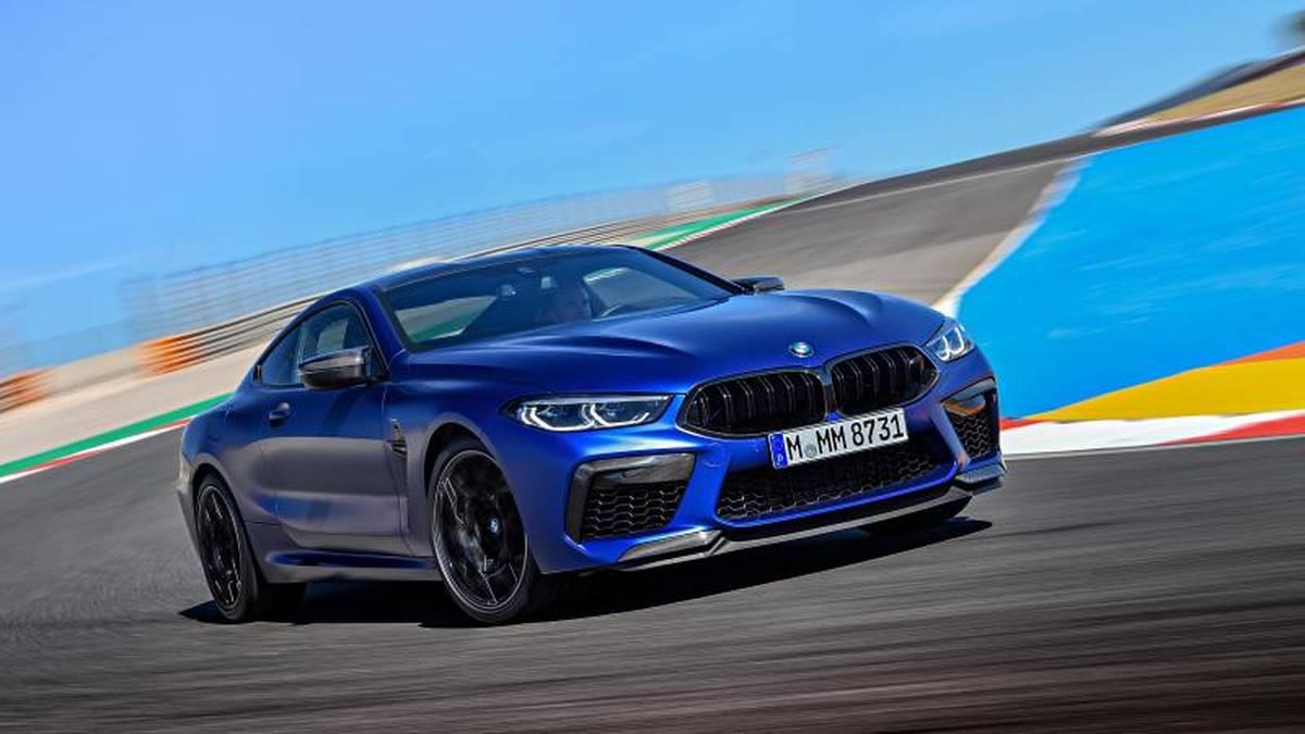 Der neue BMW M8 auf Porsche-Kurs