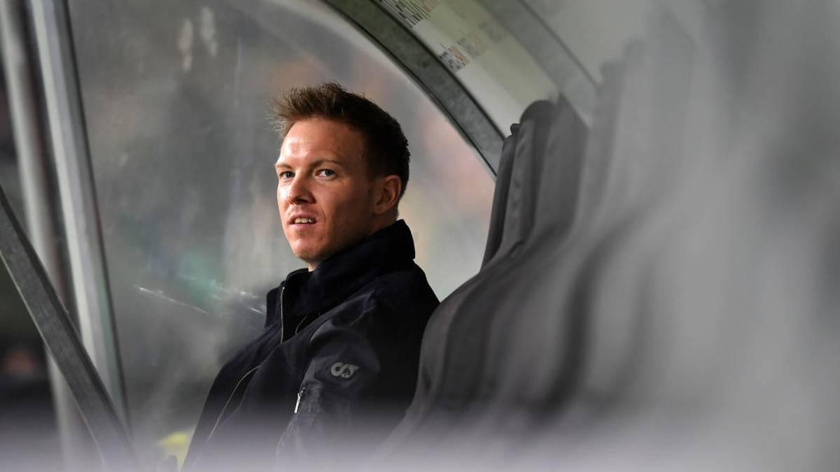 Julian Nagelsmann ist seit dieser Saison Trainer von RB Leipzig