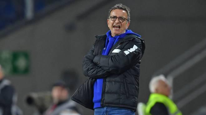 Norbert Meier blieb in sieben Spielen als Trainer des KFC Uerdingen sieglos