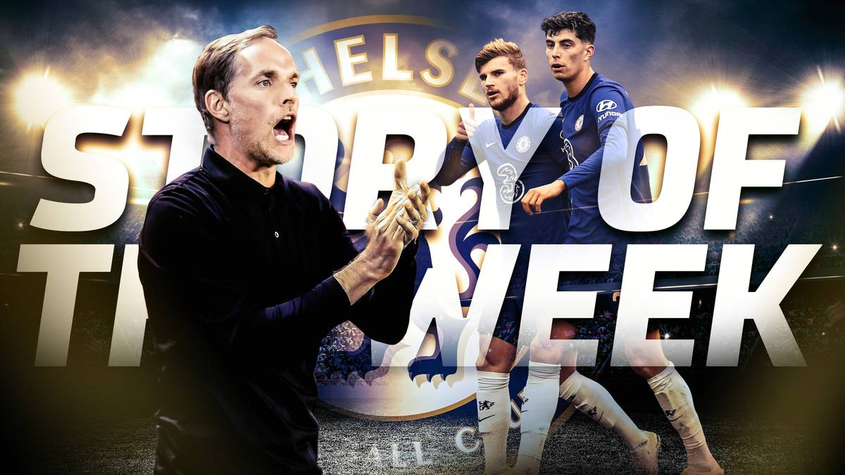 Thomas Tuchels größte Aufgabe beim FC Chelsea ist es, Kai Havertz und Timo Werner in Fahrt zu bringen. Wie das klappen kann und wo er noch ansetzen muss, erfahrt ihr in unserer neuen Folge Story of the Week.