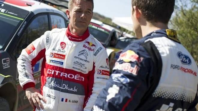 Sebastien Ogier (re.) traut seinem Namensvetter Loeb auf Korsika viel zu