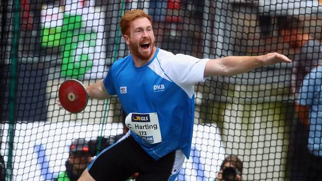 Leichtathletik: Diskuswerfer Christoph Harting knackt WM-Norm für Doha, Christoph Harting schaffte die Qualifikation für die WM im September in Doha