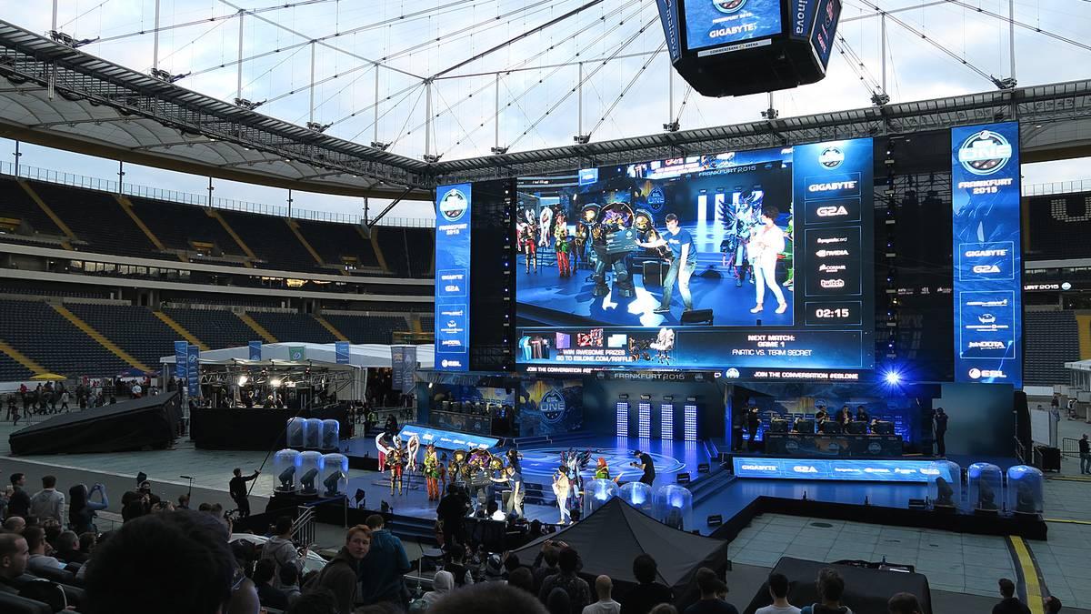 Die Electronic Sports League in Frankfurt