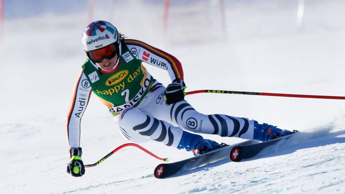 Viktoria Rebensburg fährt im Ski-Weltcup derzeit hinterher