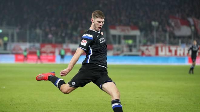 Fabian Klos erzielte gegen Darmstadt 98 das Tor des Tages