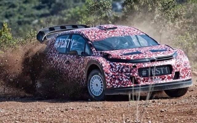 Citroen testet in Frankreich erstmals den neuen C3 WRC für 2017
