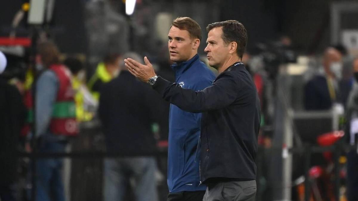 Manuel Neuer kehrt gegen Nordmazedonien ins Tor zurück