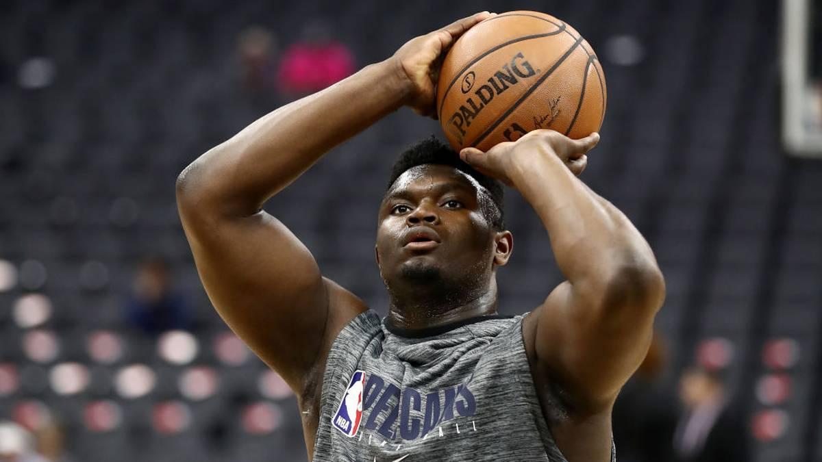 NBA-Debüt von Supertalent Williamson steht bevor