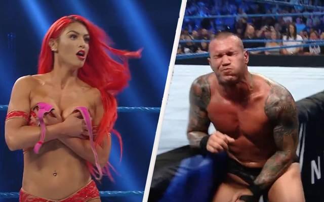 Eva Marie konnte (oder wollte?) nicht antreten, Randy Orton musste einstecken