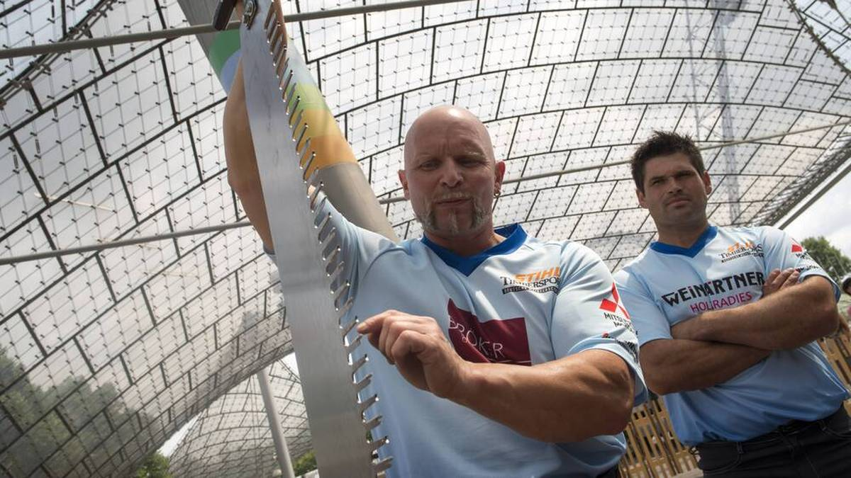 Dirk Bauer bereitet sich auf die DM 2014 vor - wo er seinen sechsten Titel gewann