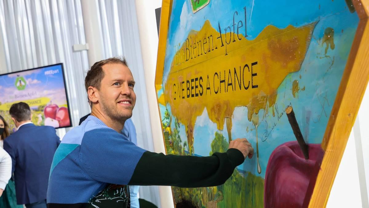 Sebastian Vettel engagiert sich für den Erhalt von Bienen