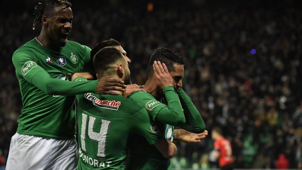 St. Étienne folgt PSG ins Endspiel