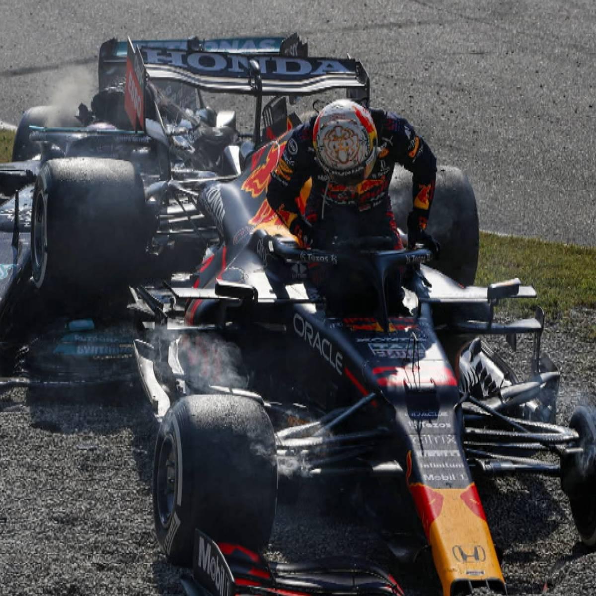 Bittere Konsequenzen für Verstappen nach Crash mit Hamilton