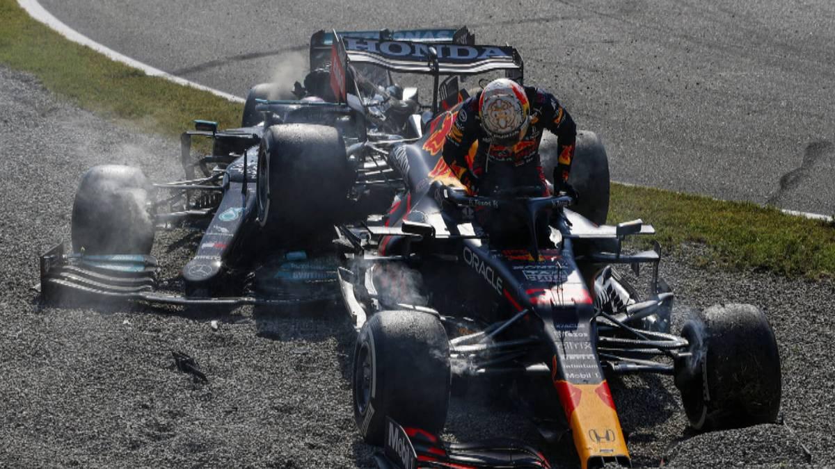 Verstappen und Hamilton waren in Monza in der 26. Runde in einen folgeschweren Crash verwickelt. Verstappens Bolide wurde ausgehebelt und landete auf dem Mercedes des Briten.