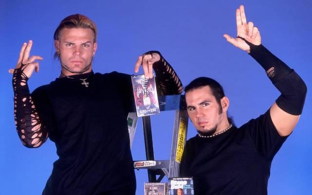 Die Hardy Boyz regierten bei WWE achtmal als Tag Team Champions