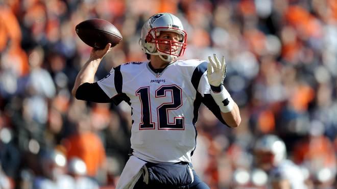 Tom Brady von den New England Patriots