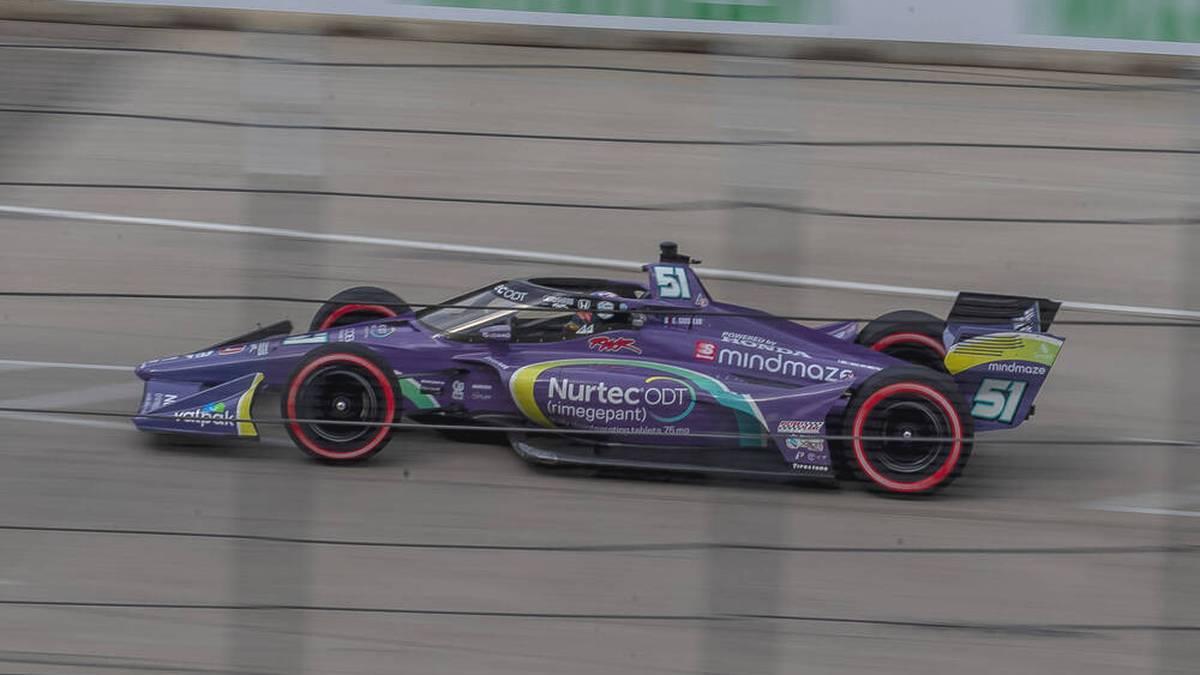 Romain Grosjean fährt nun in der IndyCar-Serie