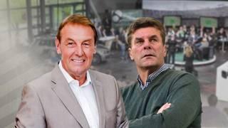 Wolfsburgs Trainer Dieter Hecking ist am Sonntag zu Gast im Volkswagen-Doppelpass - ab 11 Uhr im TV auf SPORT1