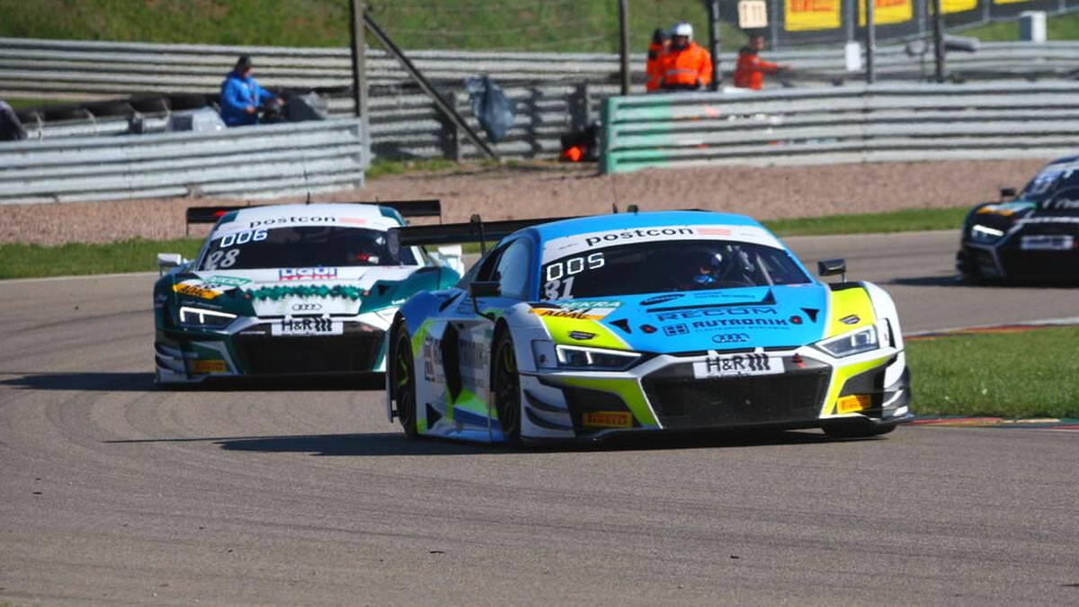 Kelvin van der Linde und Patric Niederhauser kämpfen im ADAC GT Masters um den Titel