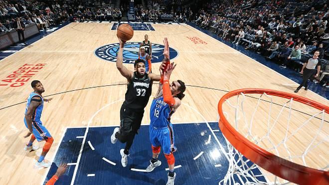 NBA: Oklahoma City Thunder mit Dennis Schröder unterliegen Timberwolves
