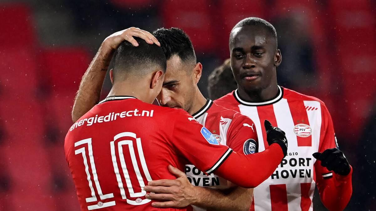 PSV Eindhoven siegte ohne Mario Götze und Philipp Max