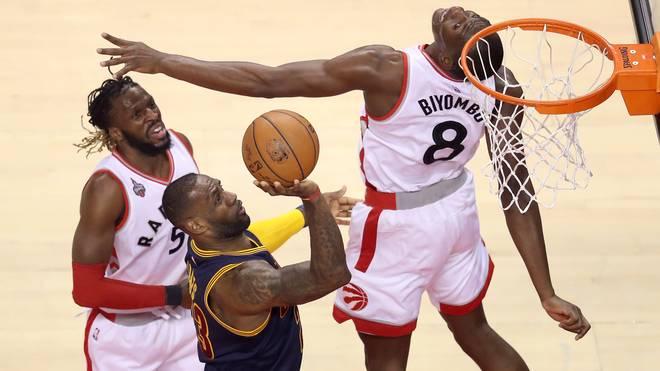 LeBron James will gegen die Toronto Raptors den Heimvorteil verteidigen
