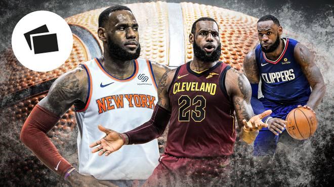 Sollten die Lakers LeBron traden? Das wären mögliche Optionen