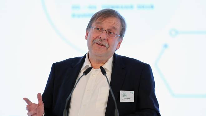 DFB-Vizepräsident Rainer Koch leitete die Sitzung Peißen bei Halle/Sachsen-Anhalt