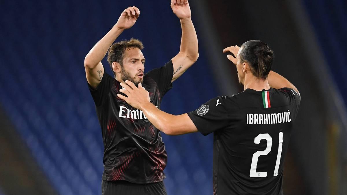 Hakan Calhanoglu und Zlatan Ibrahimovic lassen Milan wieder hoffen