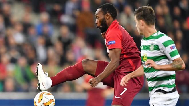 Diadie Samassékou (l.) spielt künftig in der Bundesliga