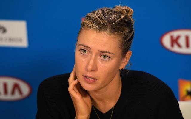 Maria Scharapowa trennt sich von Trainer Sven Groeneveld