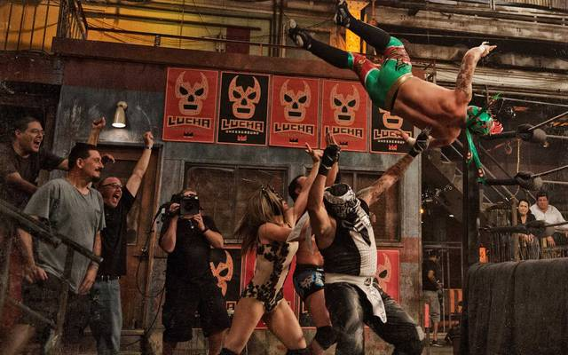 Wrestlerin Sexy Star (M.) kämpft bei Lucha Underground auch gegen Männer