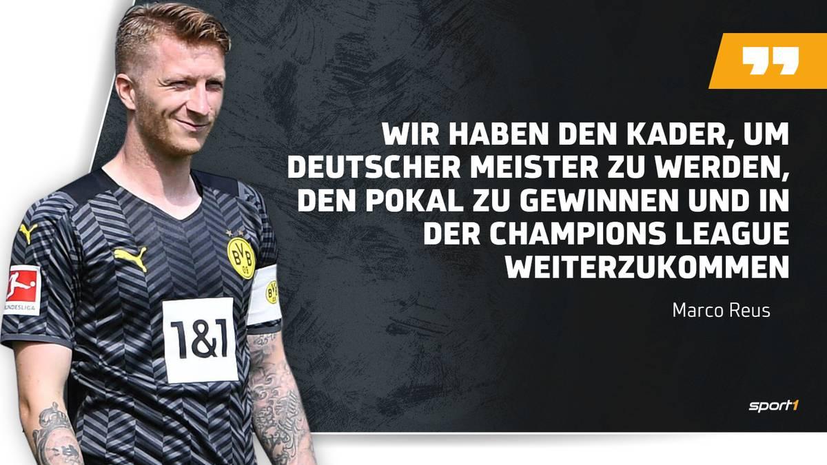 Marco Reus hält große Stücke auf den Kader des BVB